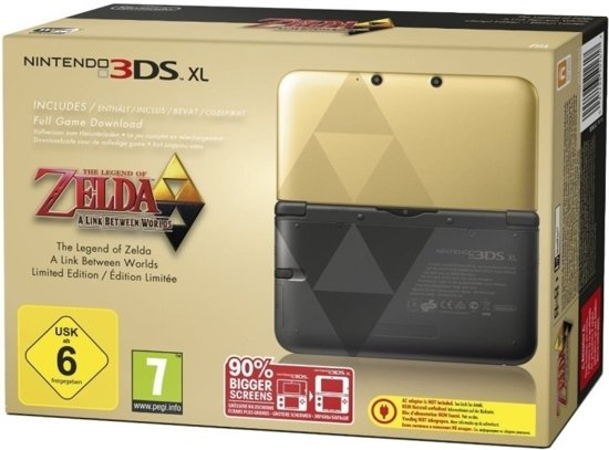 Nintendo 3DS XL Zelda + The Legend of Zelda: A Link Between Worlds - Limited Edition kopen