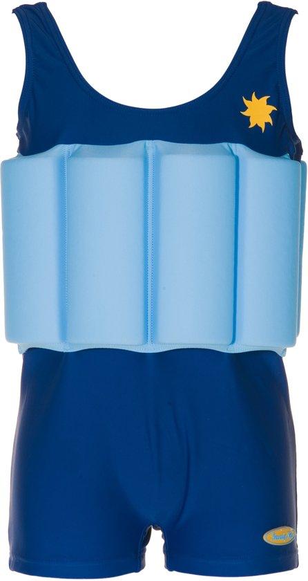 Beverly Kids UV drijfpakje Kinderen Blue Boy - Blauw - Maat 104