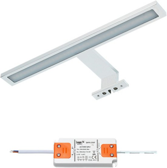 bol.com | LED badkamer spiegelverlichting Cree | 1x6 watt | wit