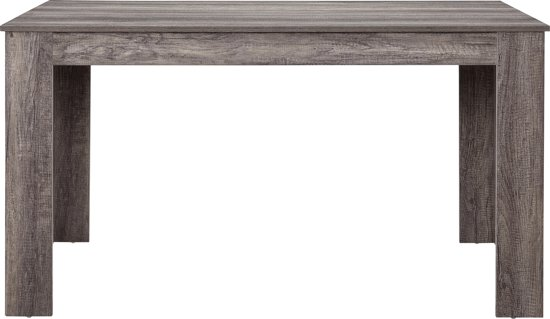 Wonderlijk bol.com | Elegante eettafel - Nora - donkere eiken look OS-94