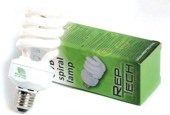 Reptech Spiral lamp 26W 10.0 UVB