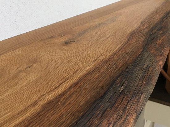Plank Bevestigen Aan Muur.Houten Plank Tegen Muur Bevestigen Zwevende Houten Wandplank
