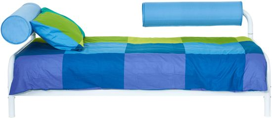 Bed Kind 3-in-1 blauw 217x97x78 cm