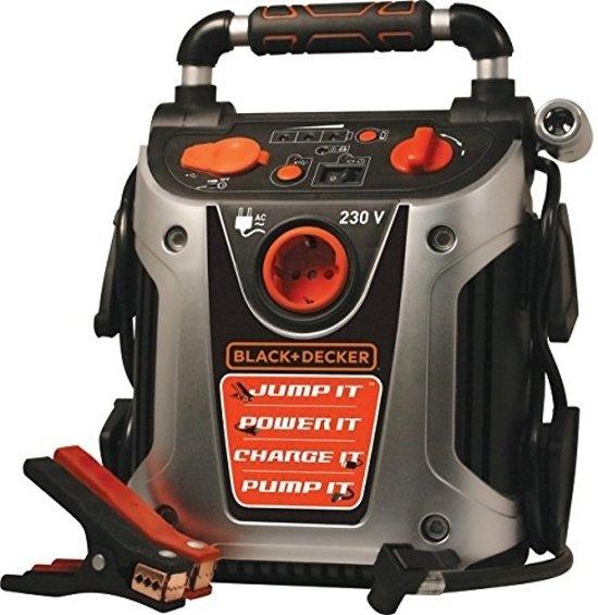 Black & Decker Jumpstarter & Compressor Vg11 (12v 450a) Oranje
