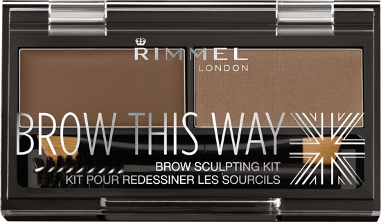 Rimmel London Brow this Way Wenkbrauwpoeder - 002 Brown