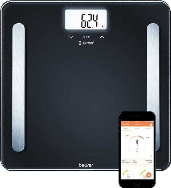 Beurer BF600 - Personenweegschaal Bluetooth® - Zwart