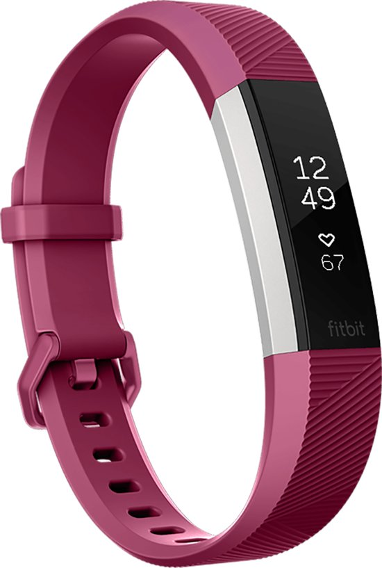 Fitbit Alta HR Activity tracker - Fuchsia - Small
