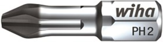 Wiha 7011 D Diamant Torsion Bit - Philips - PH1 x 25mm