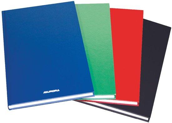 4x Magazijnboek 21,5x33,5cm - 2 hand = 192 blz - geruit 5mm
