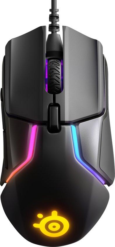 SteelSeries Rival 600 - Optische Gaming Muis - 12000 CPI - Rechts en Linkshandig - Zwart