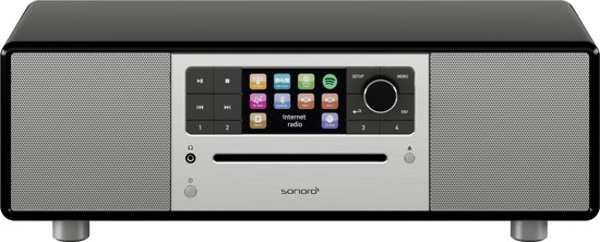 Sonoro Prestige - Internet Radio - Smart Radio - Zwart