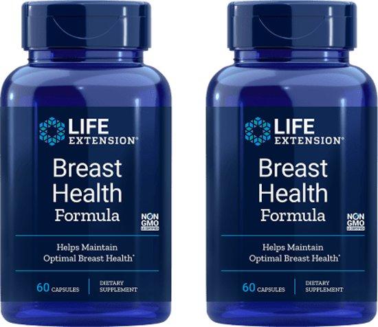 Breast Health Formula, 60 Capsules, 2-pack
