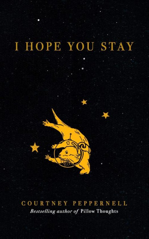 Boek cover I Hope You Stay van Courtney Peppernell