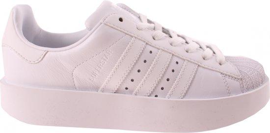 Wonderbaar bol.com | Adidas Sneakers Superstar Bold Dames Wit Maat 39 1/3 EN-43