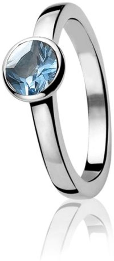 Zinzi Ring  - Dames - Zilver - 19.75 mm (62)