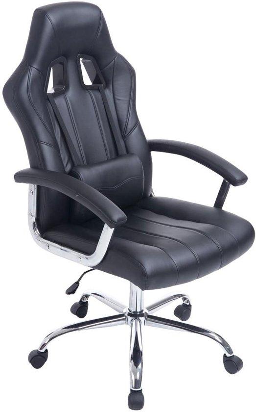 Clp OLYMP - Racing bureaustoel - zwart/zwart