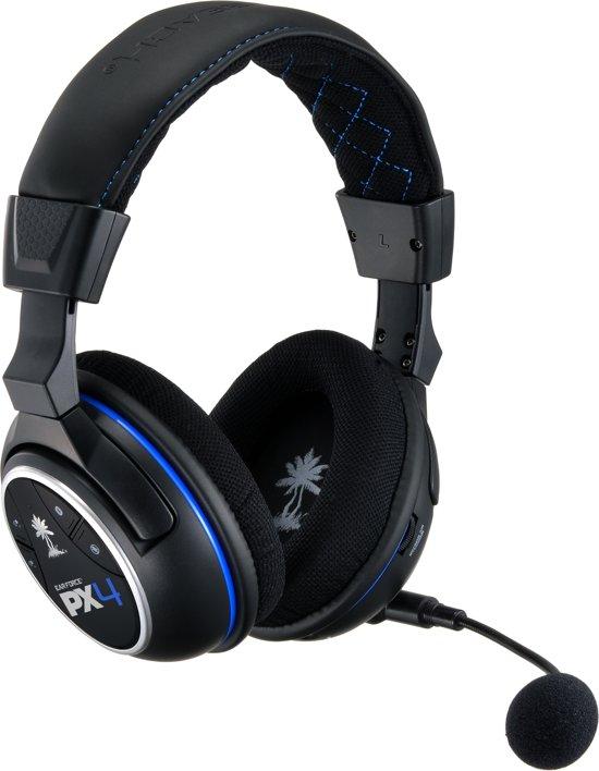 Turtle Beach Ear Force PX4 Wireless 5.1 Virtueel Surround Gaming Headset - Zwart (PS4 + PS3 + Xbox 360 + Mobile) kopen
