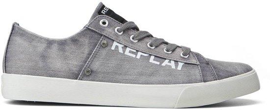 8977e2c43a7 bol.com | Replay - Heren Sneakers Dandy - Grijs - Maat 41