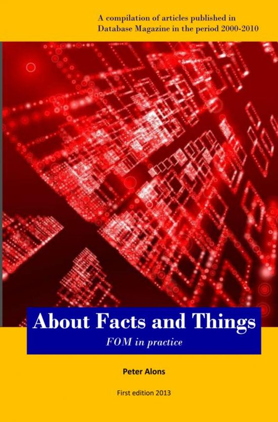 About facts and things