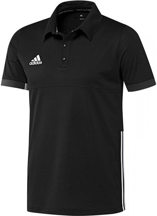 adidas T16 Team Polo Senior Sportpolo Maat M Mannen zwartwit