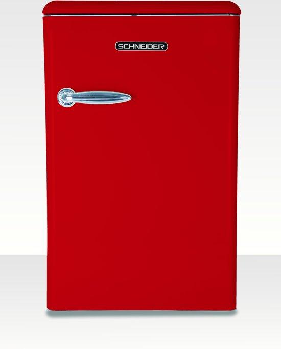 Schneider SL130TT - Tafelmodel koelkast - Fire Red