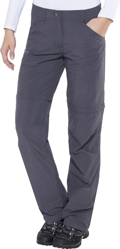 ac851438 bol.com | VAUDE Farley IV zip off broek zo, regular grijs Maat 48