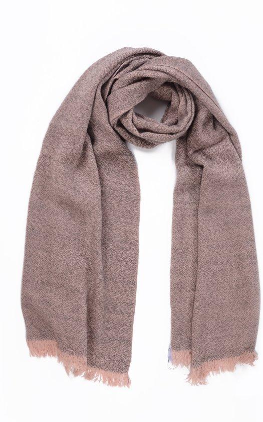 winter sjaal extra lang oversized sjaal rechthoek basic roze blush beige. Black Bedroom Furniture Sets. Home Design Ideas