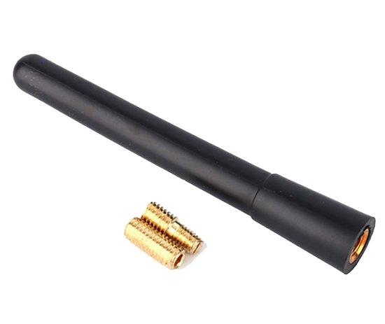 Korte auto-antenne voor de auto Antenne zwart aluminium 10cm Antenna / HaverCo