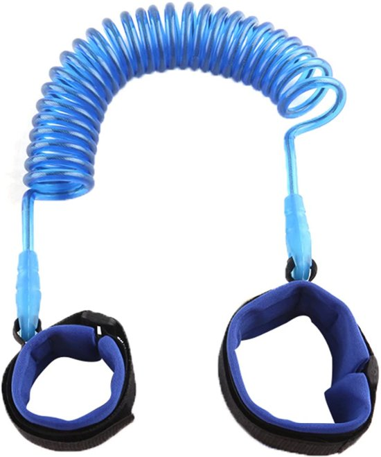 c860ff8fc9b Polsbandje kinderen | polstuigje | kindertuigje | blauw | 1.5 meter