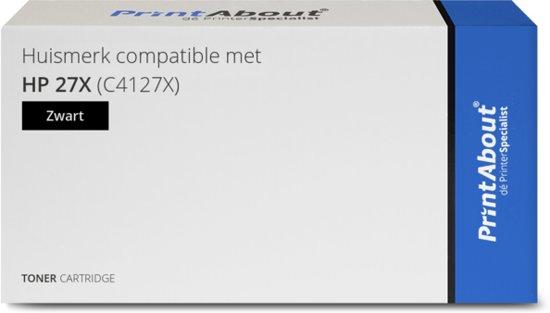 Huismerk compatible met HP 27X (C4127X) Toner Zwart