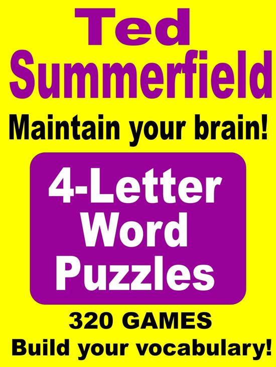 Bol 4 letter words ebook ted summerfield 9780986631207 4 letter words expocarfo Choice Image