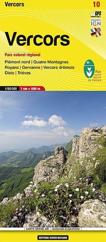 Libris Wanderkarte 10 Vercors 1 : 60 000