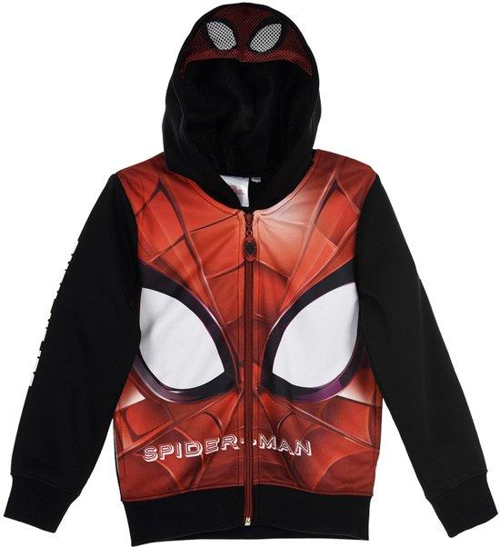 Spiderman vest zwart maat 104