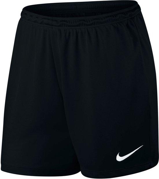 Nike Womens Dry Park II Short Nb K Sportshort Dames - Black/White - Maat L