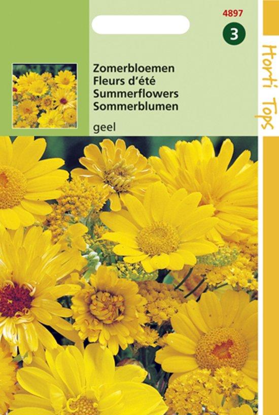 Hortitops Zaden - Zomerbloemen Gele Tinten