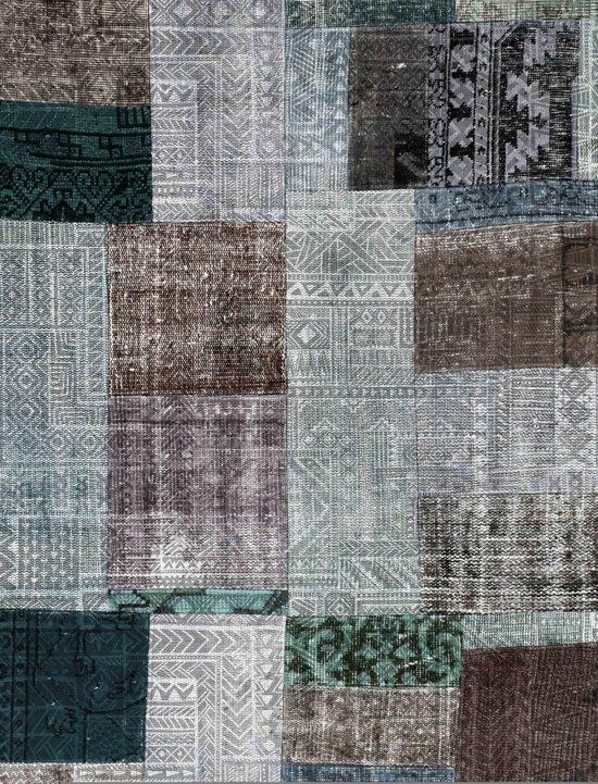 b50ee7ab873aaa Loft Seven Vloerkleed Ethnic 160x230cm - Katoen Chenille - Blauw