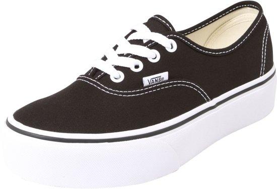 Vans Dames Maat Sneakers WmnZwart Authentic Platform 37 luF1KJc3T