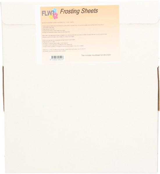 FLWR eetbaar frosting sheets A4