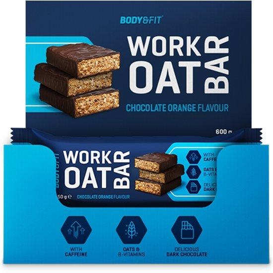 Body & Fit Work Oat Bar - Energy Bar / Energiereep - 1 doos (12 repen) - Chocolate Orange