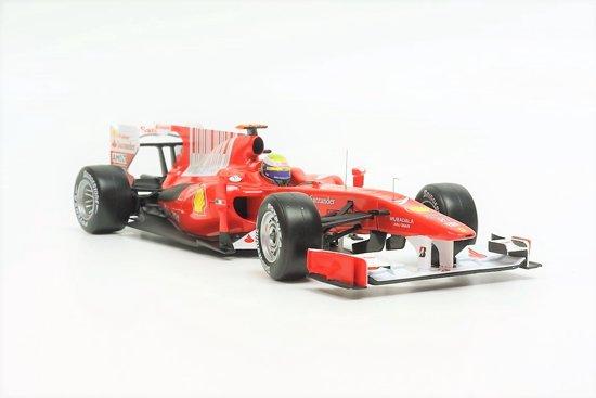 Hot Wheels F1 Ferrari F10 Felipe Massa 2010 Rood 1:18