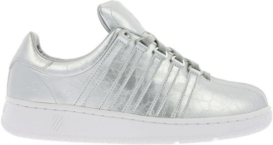 K-Swiss Classic VN aged foil zilver sneakers dames (93744-086-M) - Maat 37.5