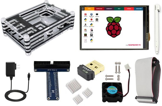 Raspberry Pi Starter kit + Raspberry Pi 3 model B+