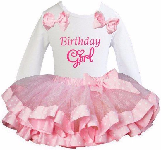 Bol Com Verjaardag Kleding Birthday Girl Feestjurk Tutu Pettiskirt