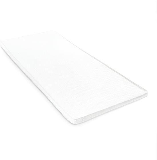 Lumaland - Matras topper - Comfort schuim - Visco elastisch orthopedisch topdekmatras - 120 x 200 cm + 3,5 cm