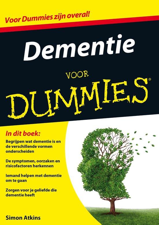 Boek cover Voor Dummies - Dementie voor Dummies van Simon Atkins (Onbekend)