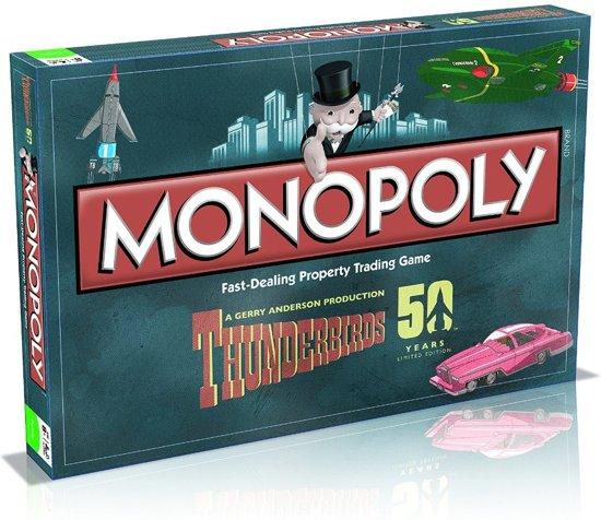 Monopoly Thunderbirds Retro - Bordspel - Engelstalig