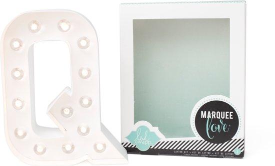 Heidi Swapp Marquee letterlamp Q