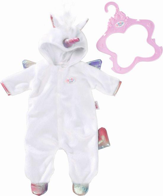 Afbeelding van BABY born Onesie Unicorn - Poppenkleding - 43cm speelgoed