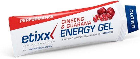 Etixx Energy Gel - Ginseng & Guarana - Maracuja 12 stuks