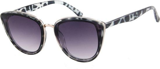 4ada9cd31748a0 Zonnebril Butterfly - Dames - UV 400 bescherming Cat. 3 - Glazen 60 mm -